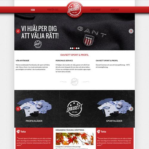 Oavsett webdesign
